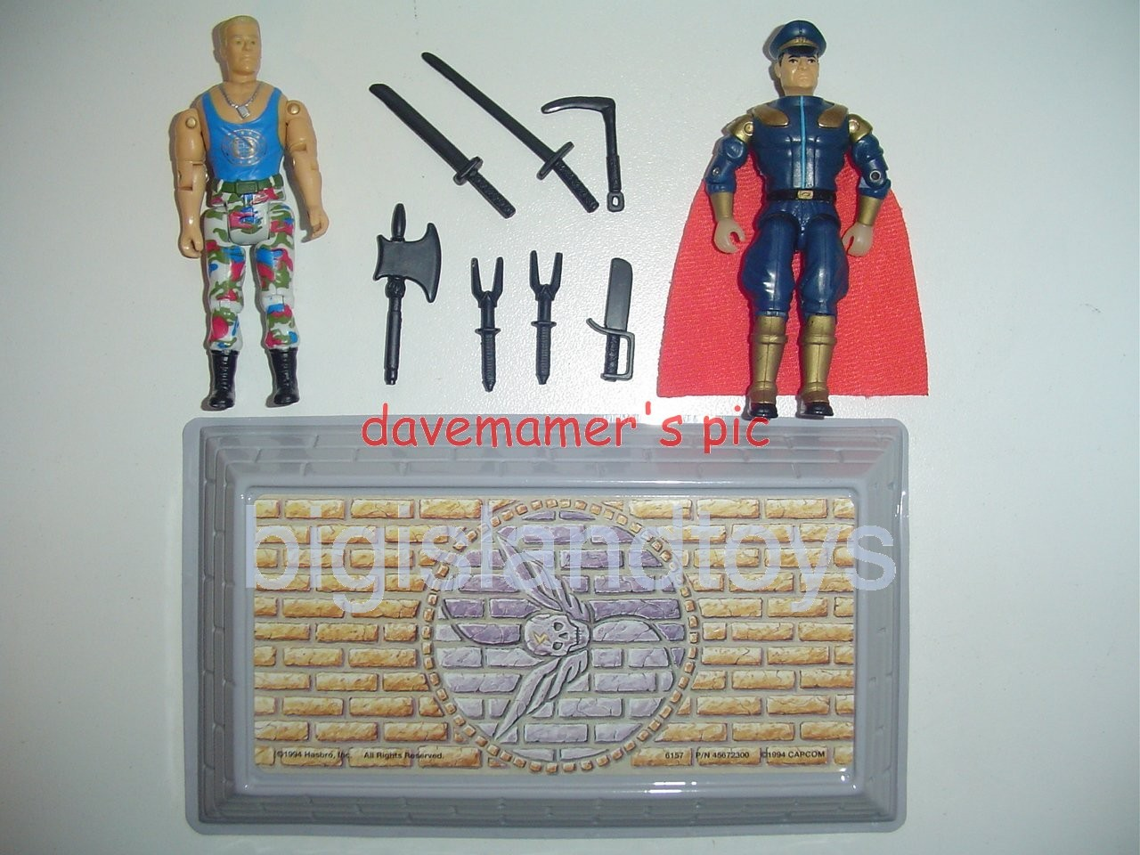 Street Fighter Movie Edition   Guile vs M Bison 2 pack