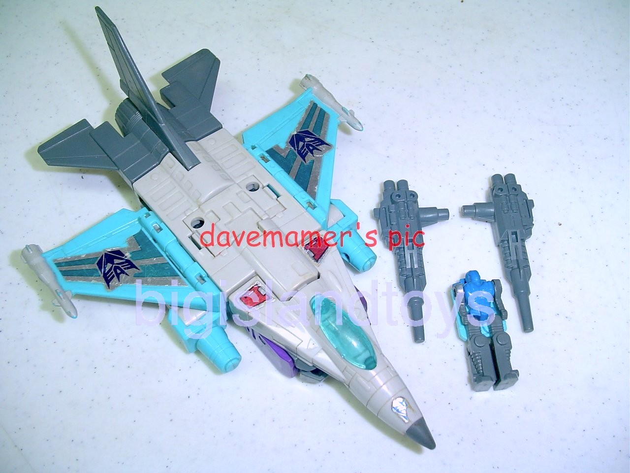 Transformers Generation One G1 1988  Dreadwind with Hi-Test