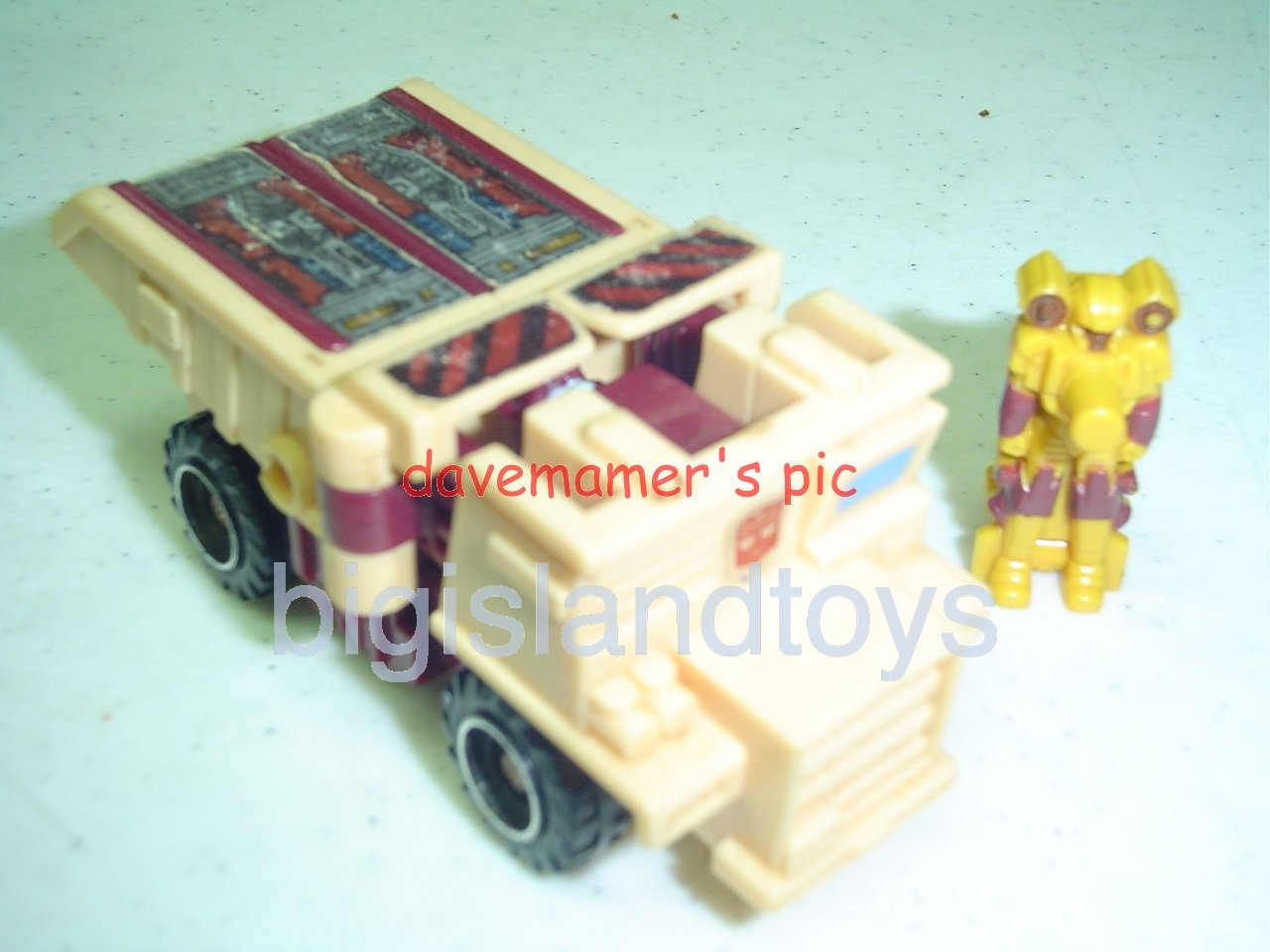 Transformers Generation One G1 1988  Landfill with Flintlock and Silencer