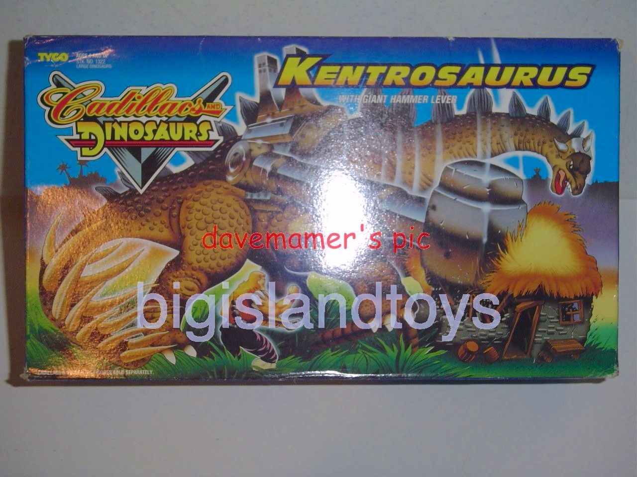 Cadillacs and Dinosaurs    KENTROSAURUS with Giant Hammer Lever
