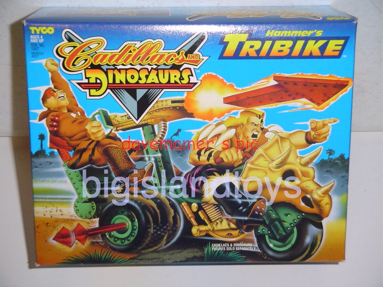 Cadillacs and Dinosaurs    Hammers TRIBIKE