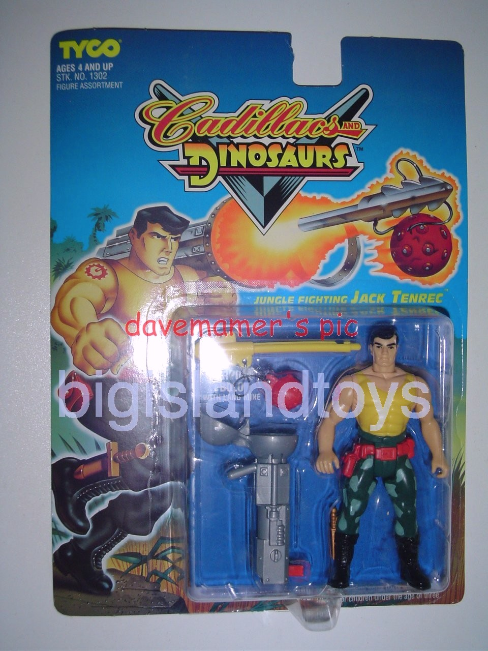 Cadillacs and Dinosaurs    JUNGLE FIGHTING JACK TENREC