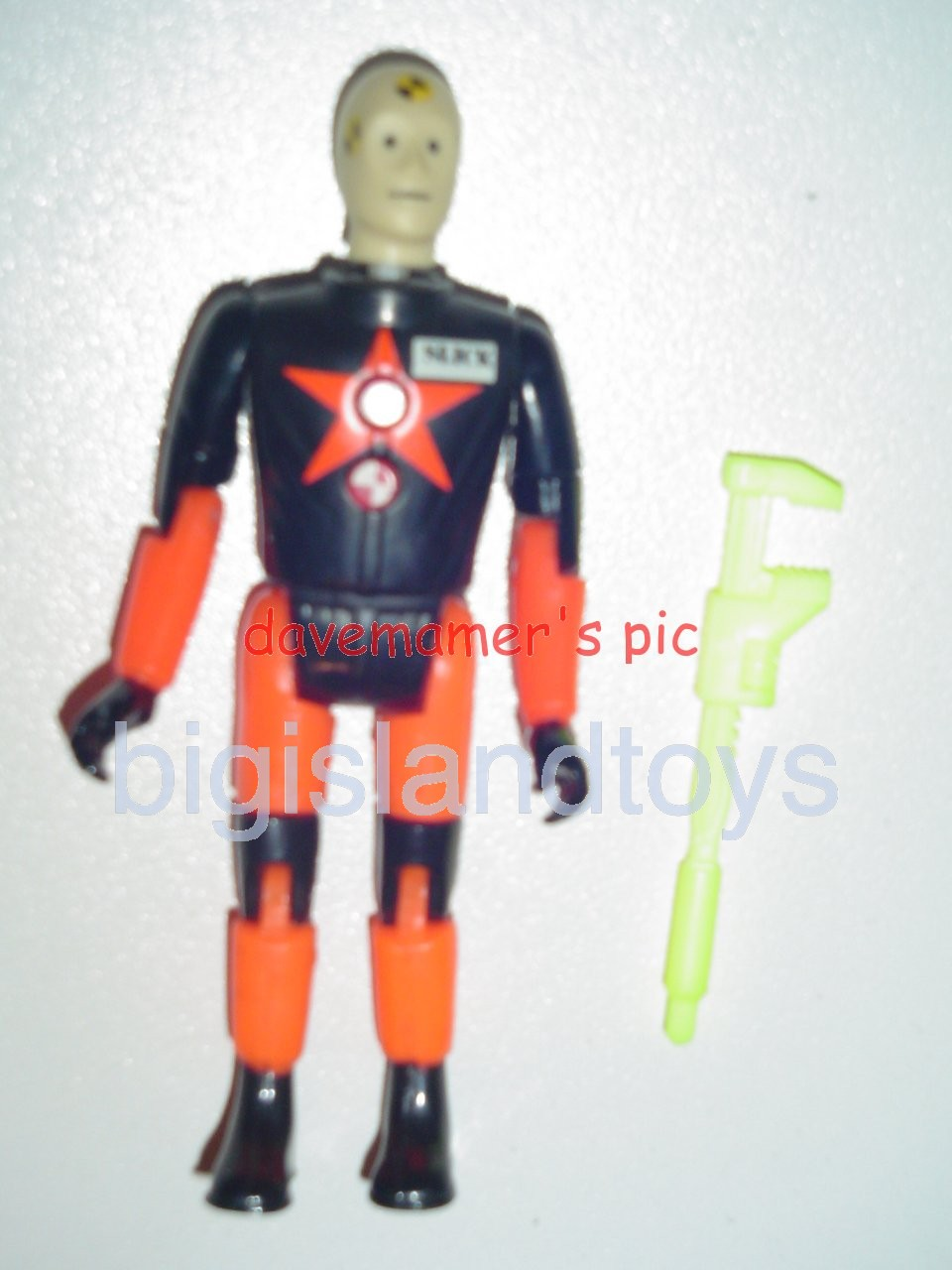 Crash Dummies    Slick with Pro Tek Suit