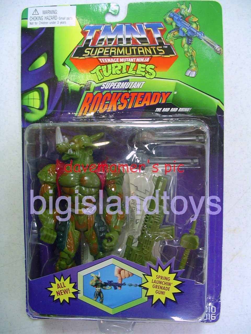 Teenage Mutant Ninja Turtles 1994 Figures   Supermutant ROCKSTEADY