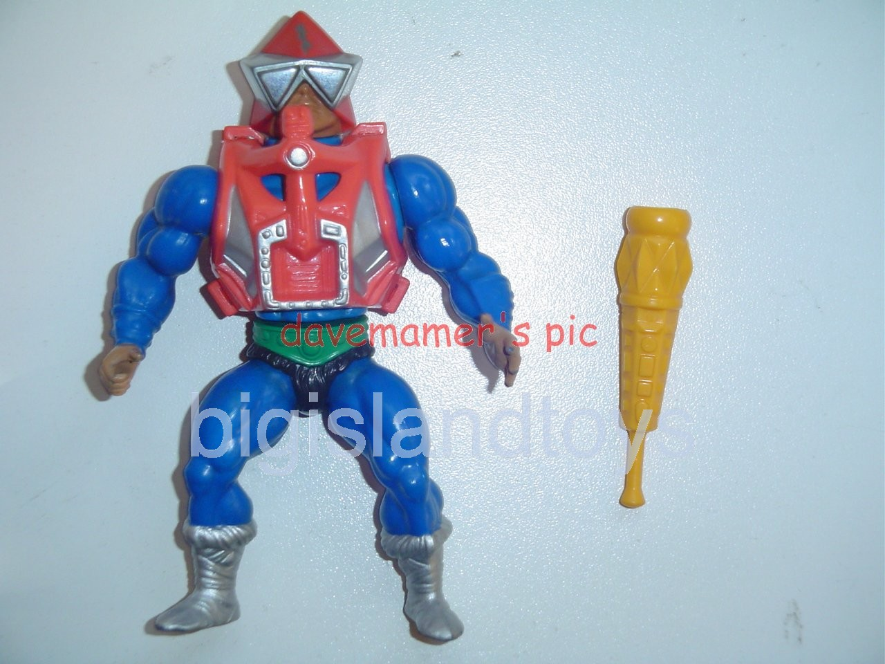 Masters of the Universe Series 3 1984   MekaneckPeach Armor