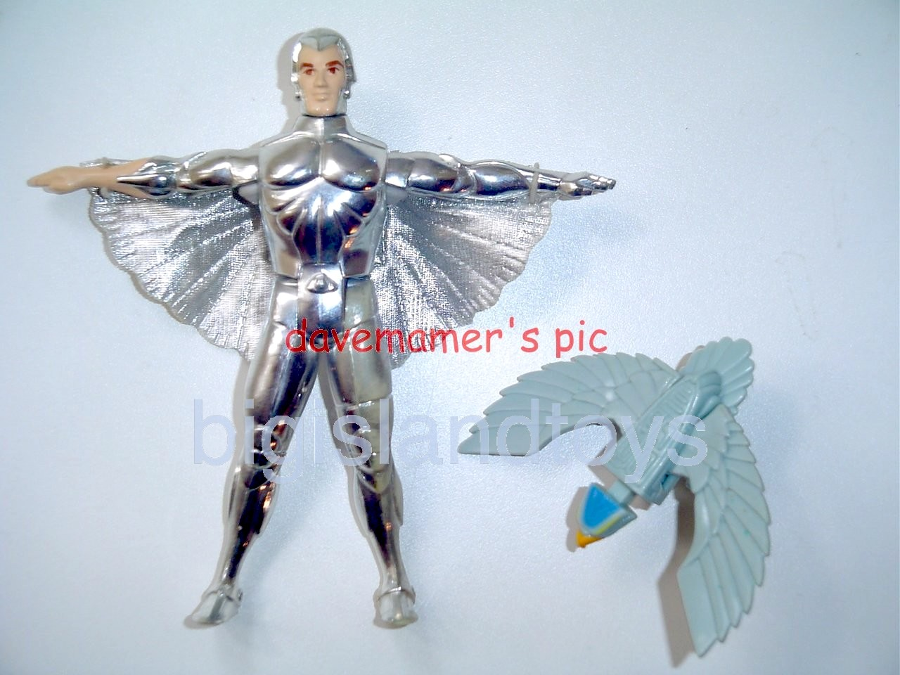 Silver Hawks    Quicksilver with Tally Hawk