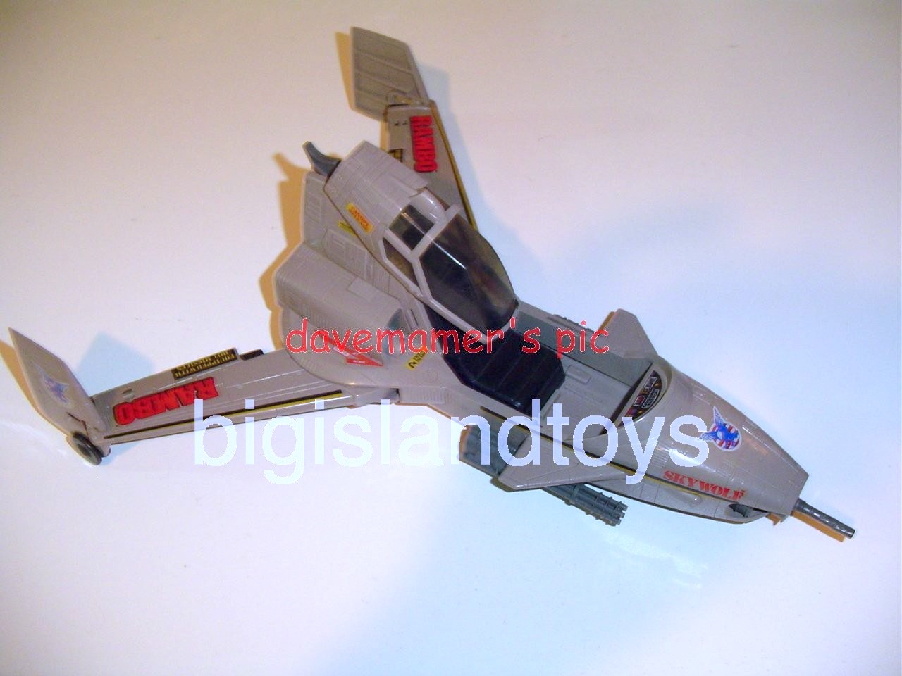 Rambo and the Forces of Freedom    Skywolf Assault Jet