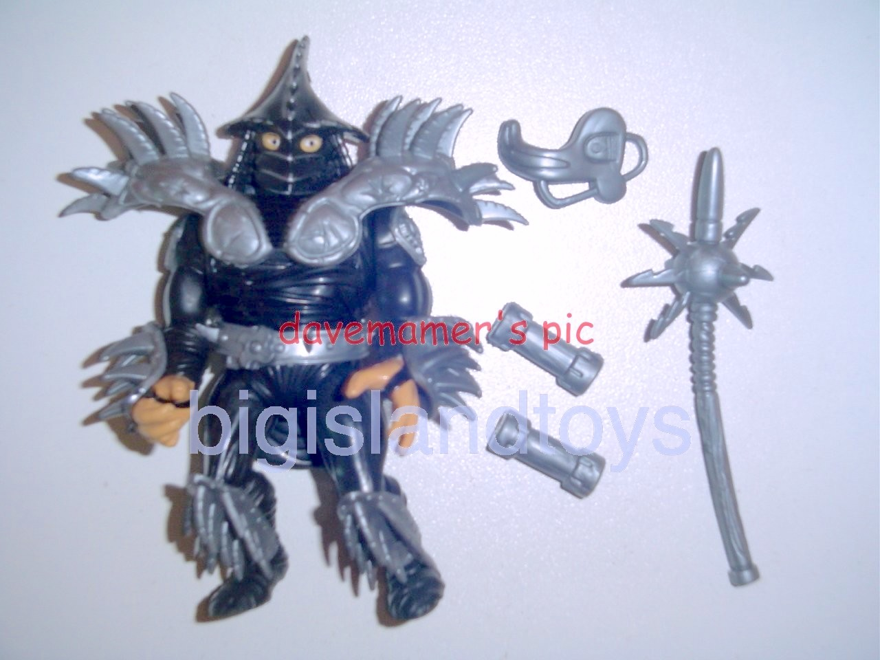 Teenage Mutant Ninja Turtles 1991 Figures   Movie Star Super Shredder Black Chef Boyardee Mail Away