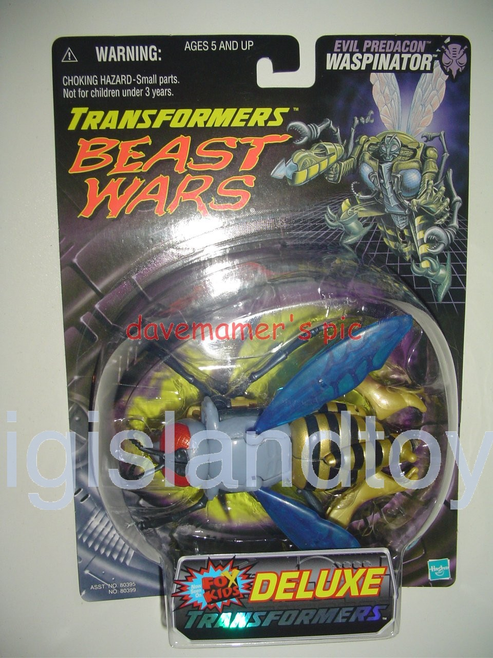 Transformers Beast Wars 1999  Waspinator Fox Kids