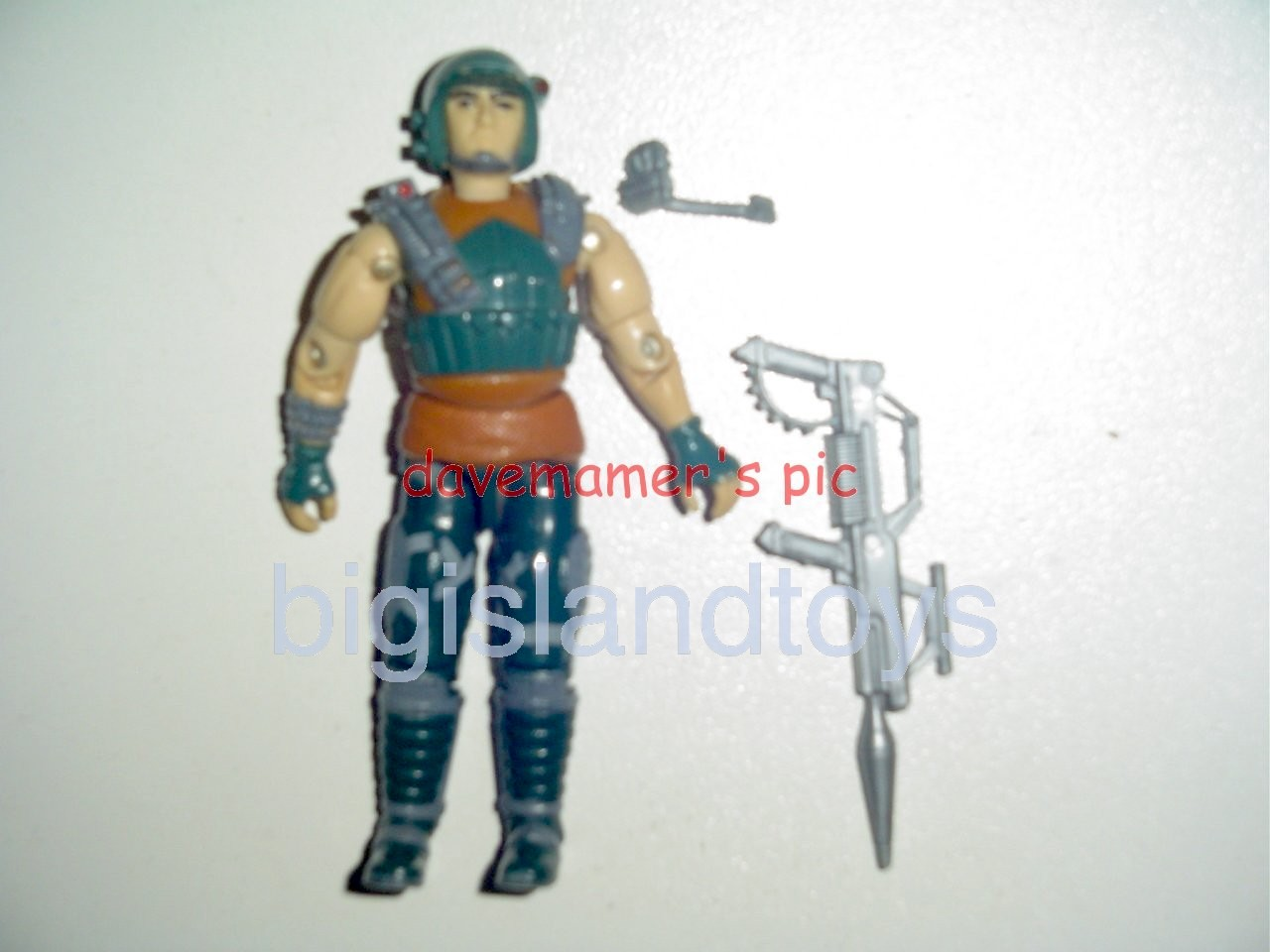 GI Joe 1987 Figures   Dodger