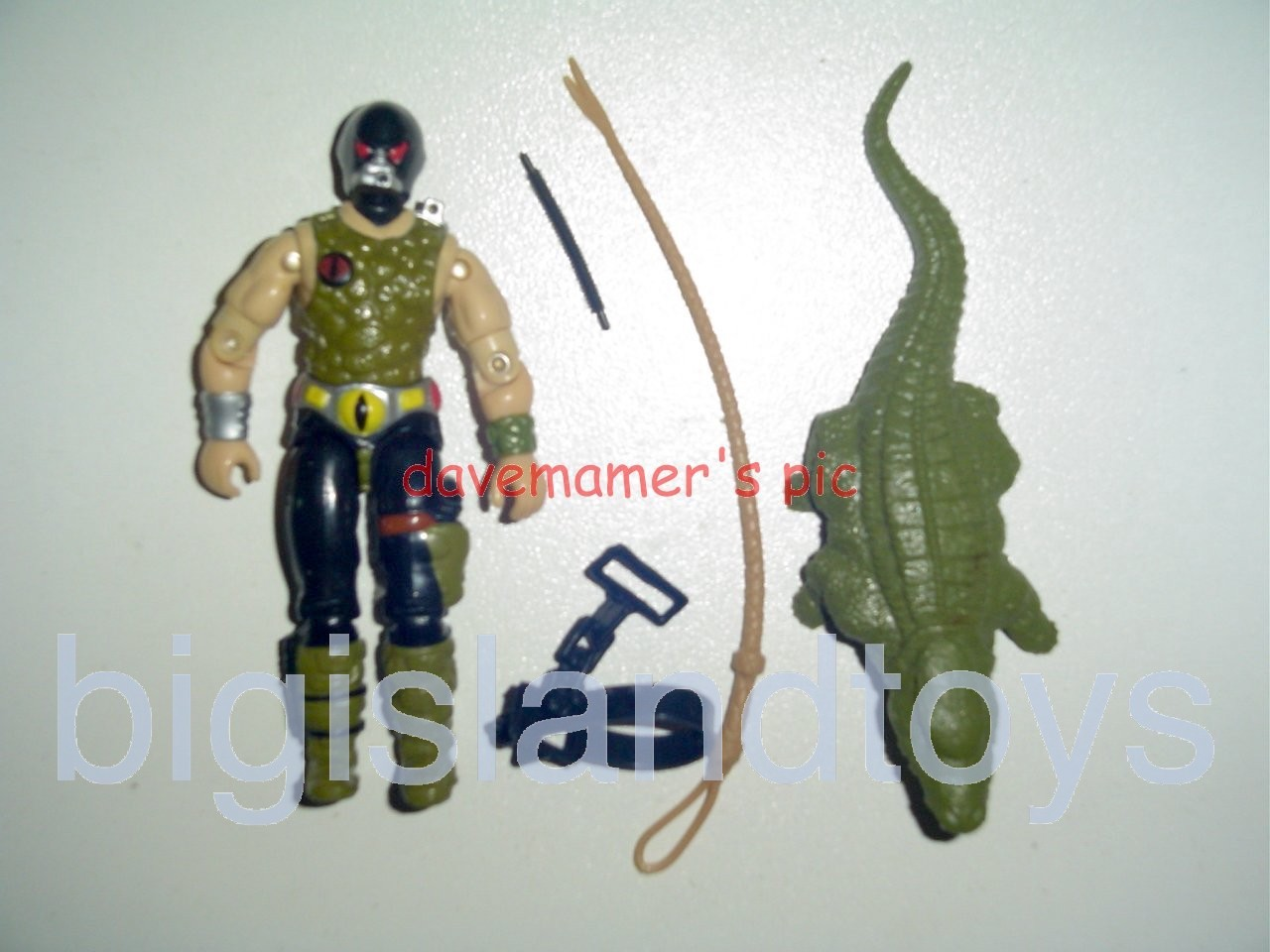 GI Joe 1987 Figures   Croc Master