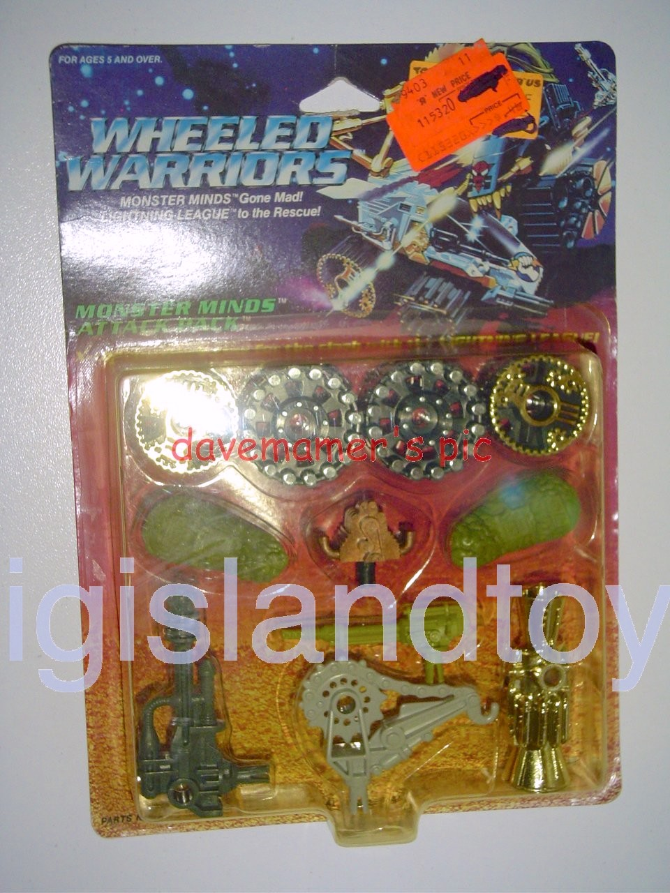 Wheeled Warriors Monster Minds   Monster Minds Attack Pack