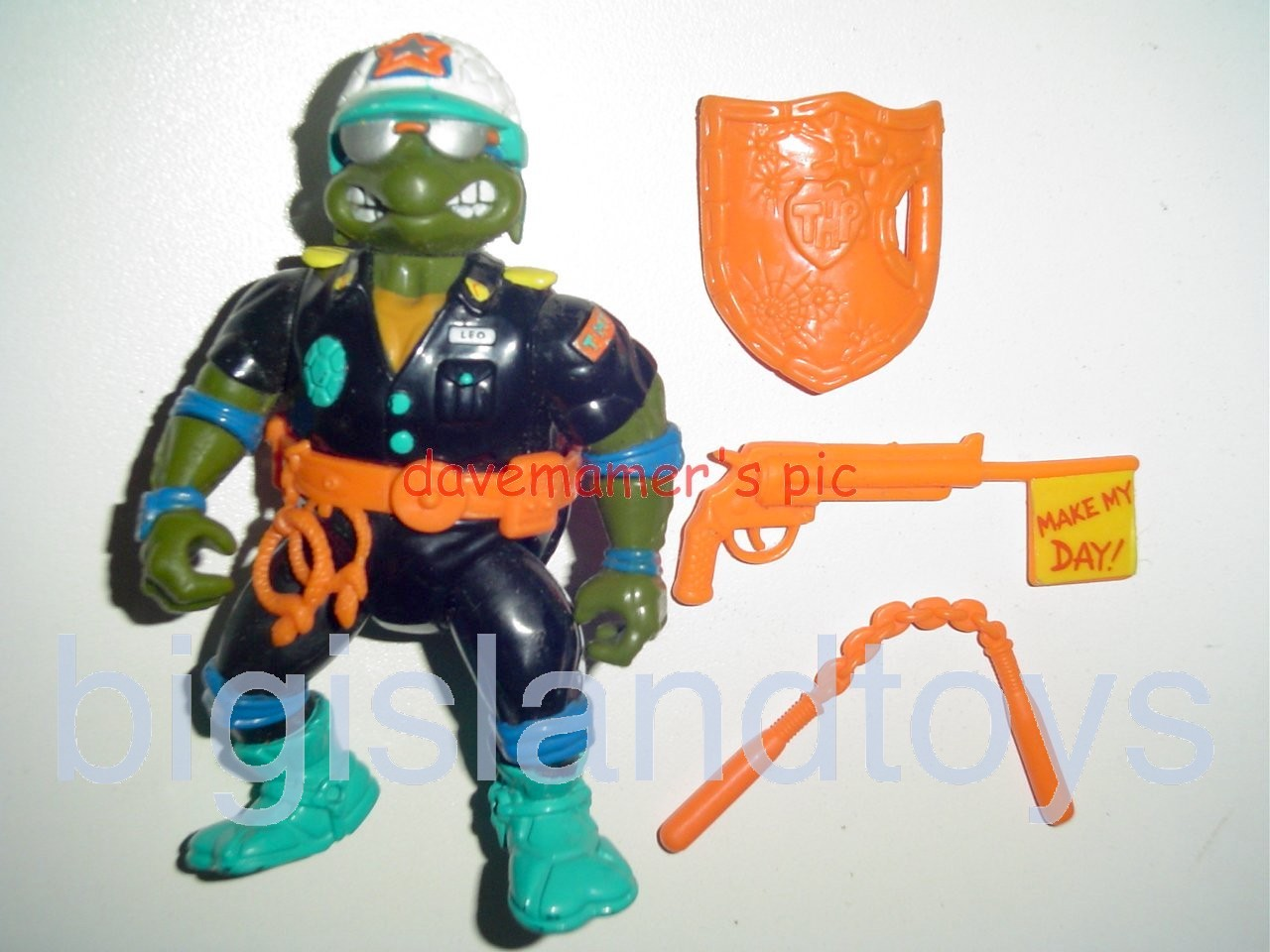 Teenage Mutant Ninja Turtles 1991 Figures   Make my Day Leo