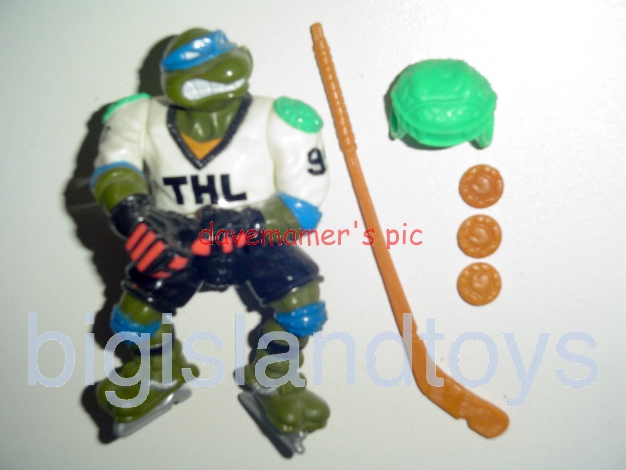 Teenage Mutant Ninja Turtles 1991 Figures   Slap Shot Leo
