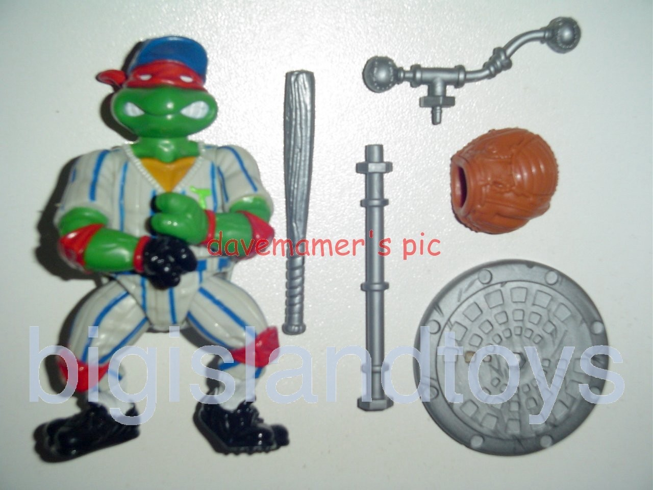 Teenage Mutant Ninja Turtles 1991 Figures   Grand Slammin Raph