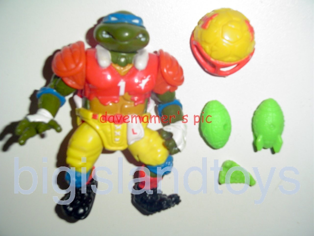 Teenage Mutant Ninja Turtles 1991 Figures   T.D. Tossin Leo
