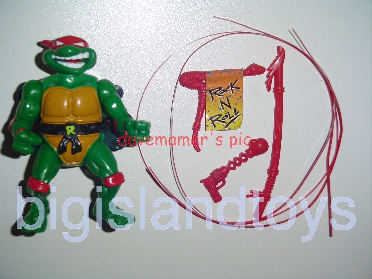Teenage Mutant Ninja Turtles 1991 Figures    Talkin Raph