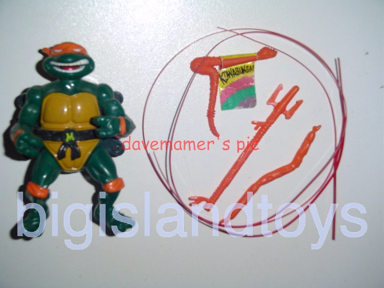 Teenage Mutant Ninja Turtles 1991 Figures   Talkin Mike