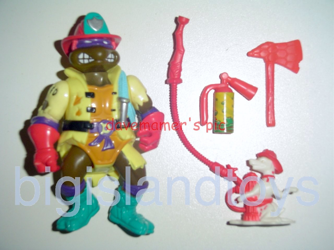 Teenage Mutant Ninja Turtles 1991 Figures   Hose Em Down Don