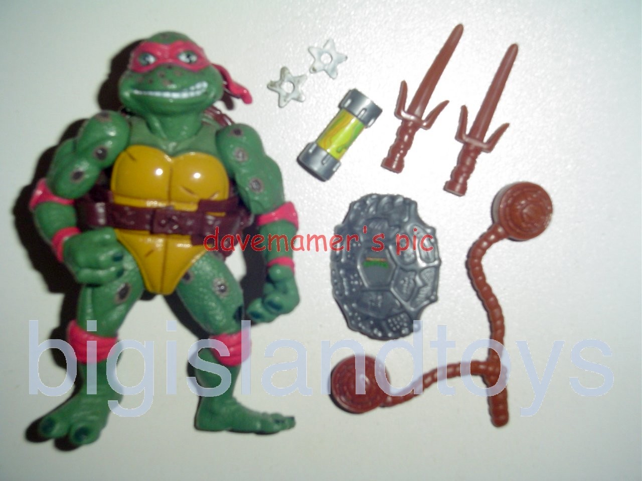 Teenage Mutant Ninja Turtles 1991 Figures       Movie Star Raph