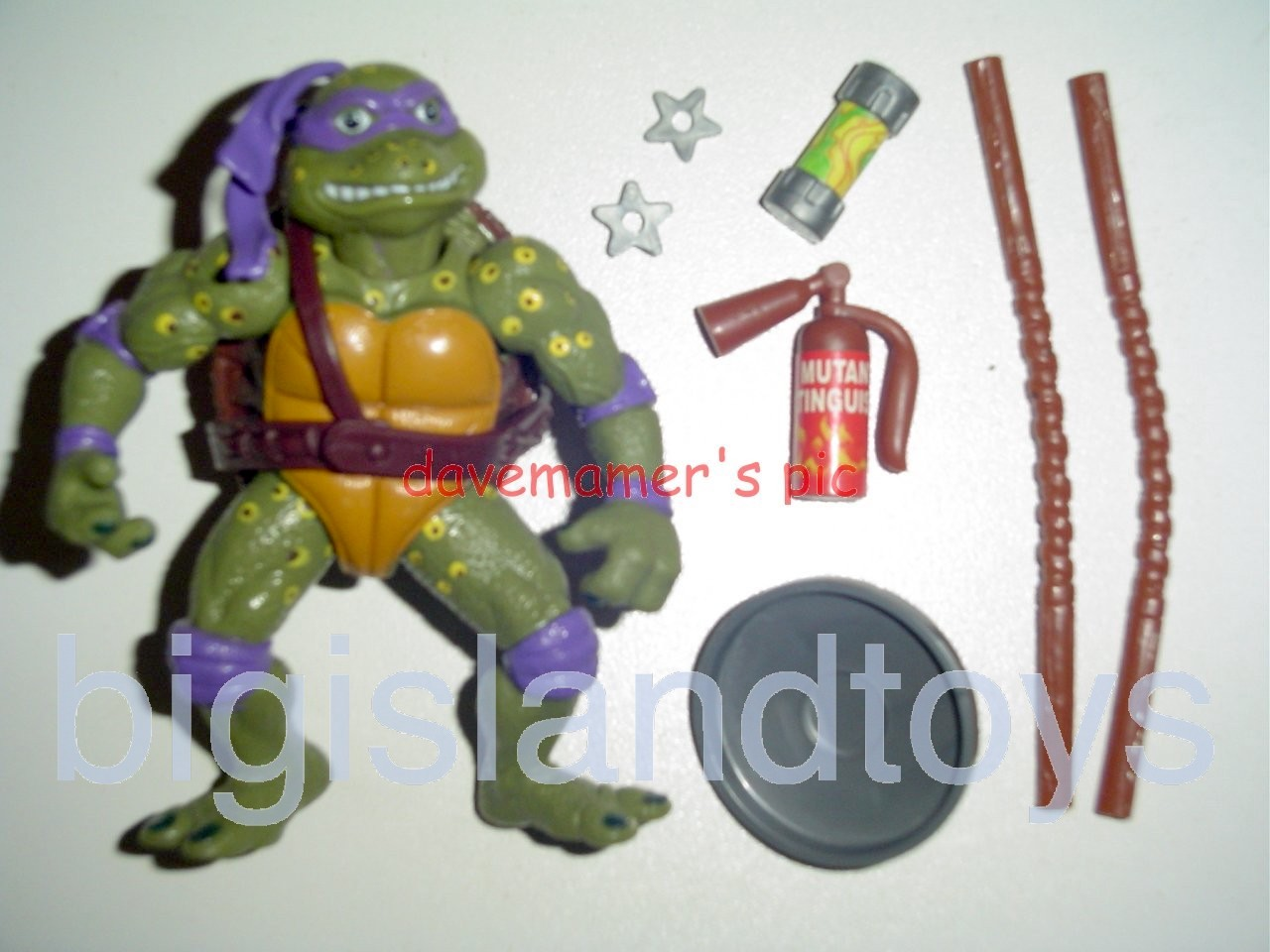 Teenage Mutant Ninja Turtles 1991 Figures       Movie Star Don