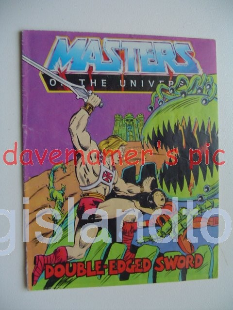 Masters of the Universe Mini Comics   Double-Edged Sword
