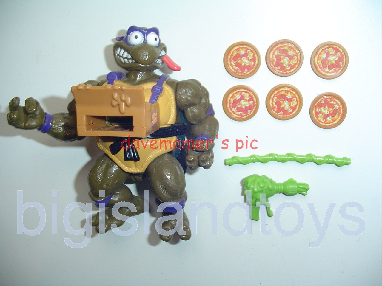 Teenage Mutant Ninja Turtles 1994 Figures   Pizza Tossin DON