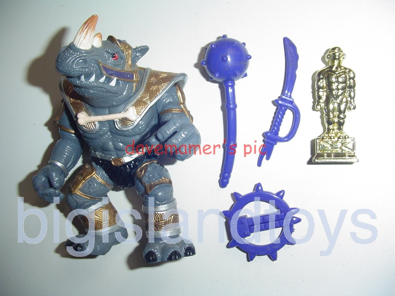 Teenage Mutant Ninja Turtles 1994 Figures       GATEKEEPER ROCKSTEADY