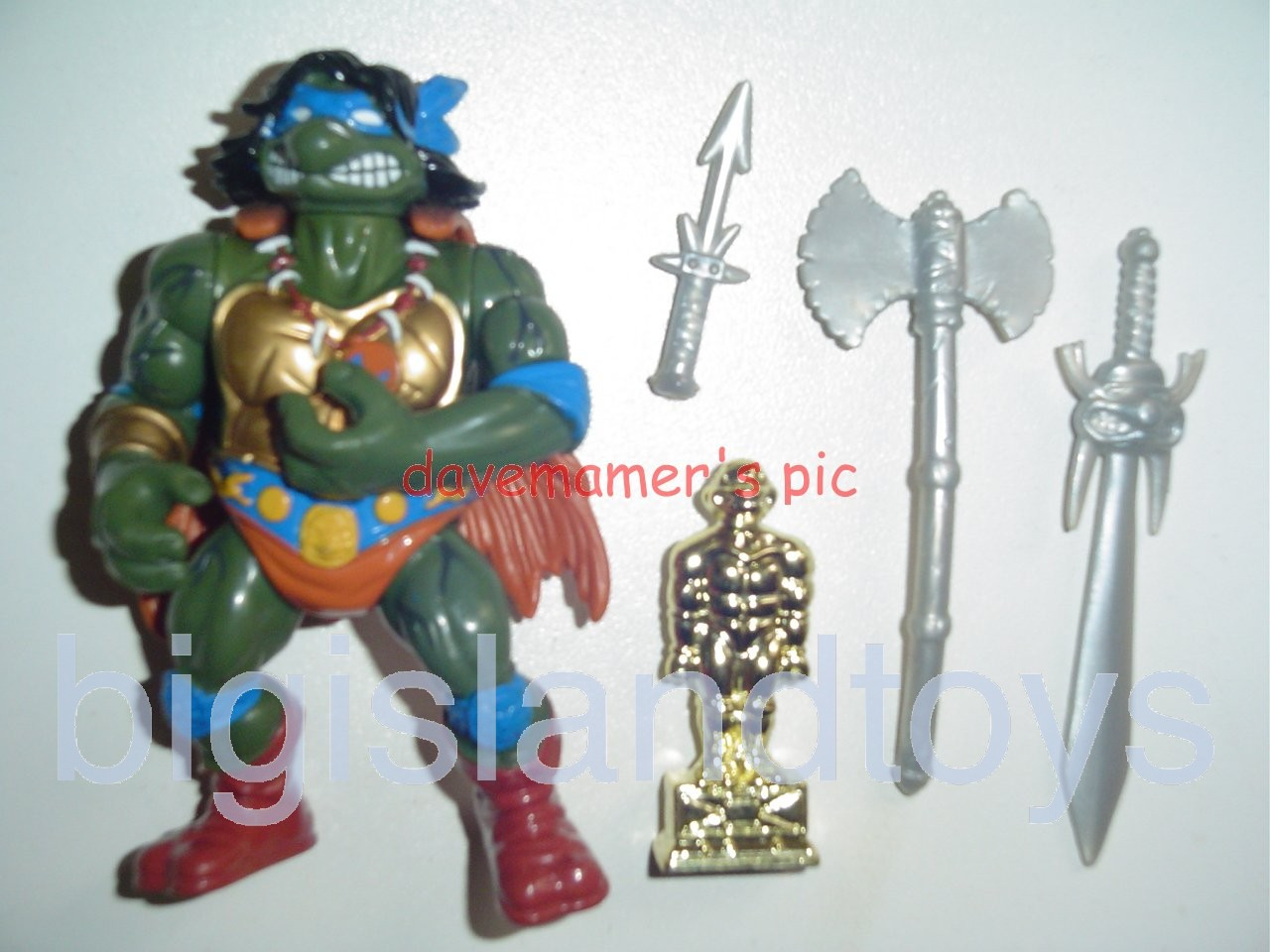 Teenage Mutant Ninja Turtles 1994 Figures        SAVAGE LEO