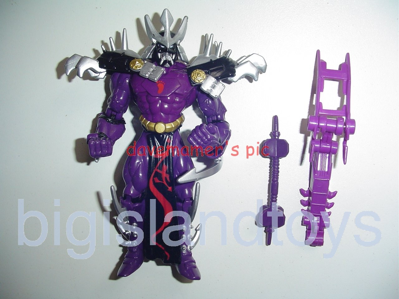 Teenage Mutant Ninja Turtles 1994 Figures       Supermutant SHREDDER