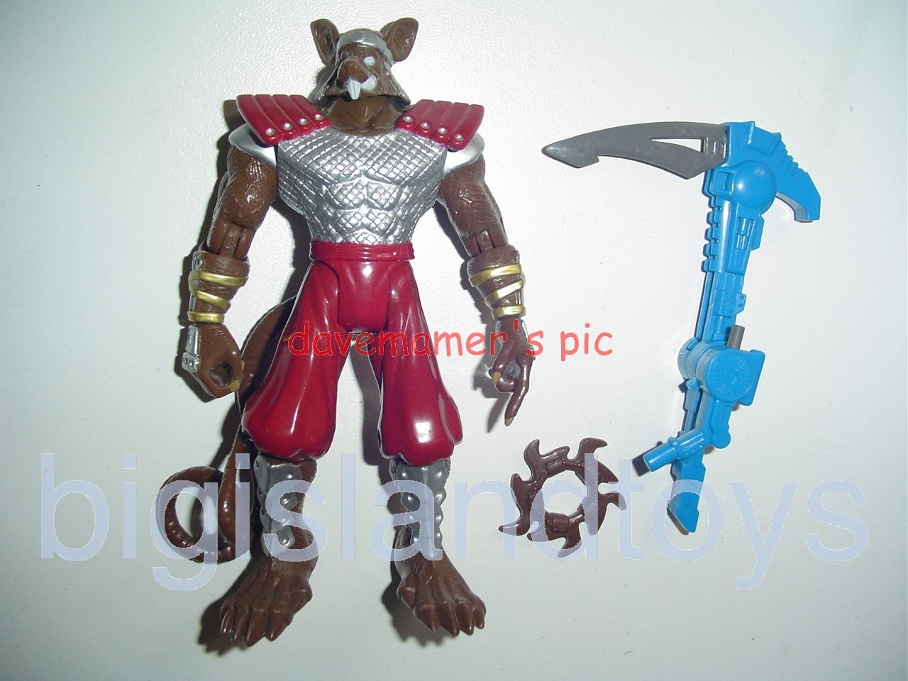 Teenage Mutant Ninja Turtles 1994 Figures      Supermutant SPLINTER