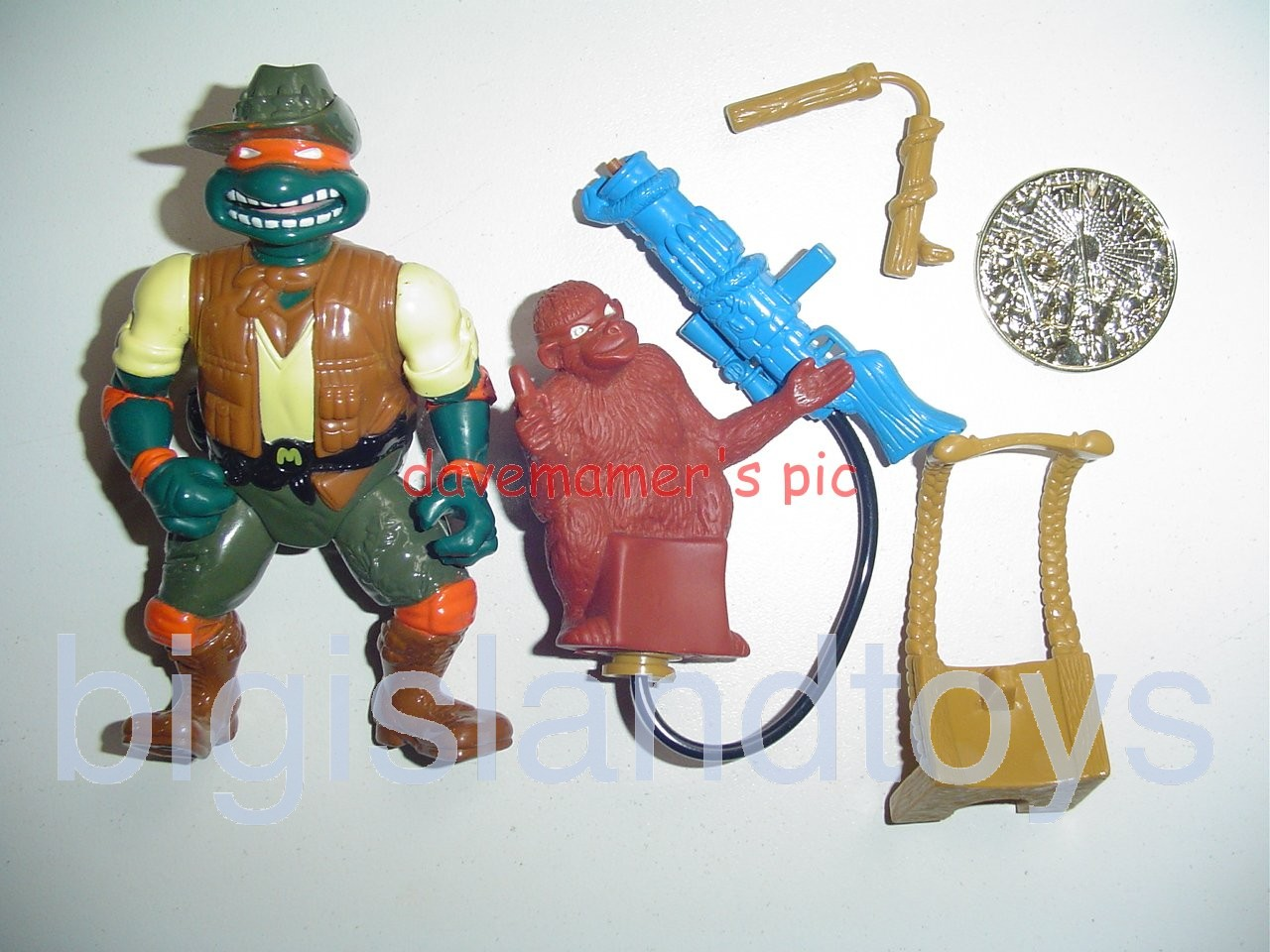 Teenage Mutant Ninja Turtles 1994 Figures     SAFARI MIKE