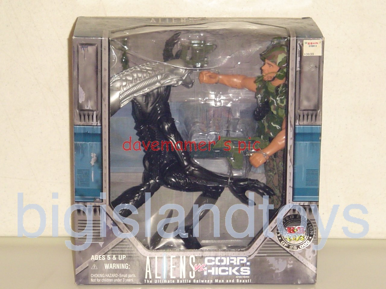 Aliens    Docking Bay 56 Boxed Set ALIEN vs CORPORAL HICKS 12 inch KayBee