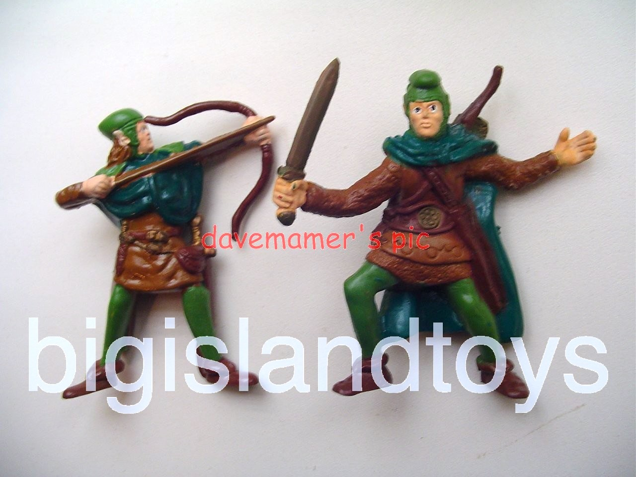 Advanced Dungeons & Dragons PVC Figures   ELVES OF THE WOODLANDS