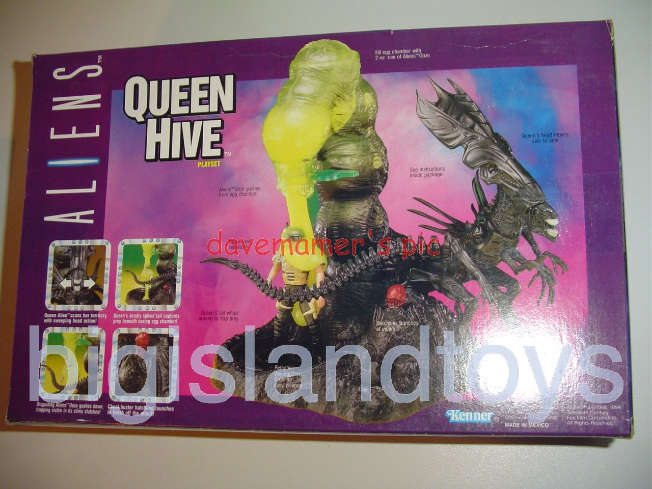 Aliens    Queen Hive Playset
