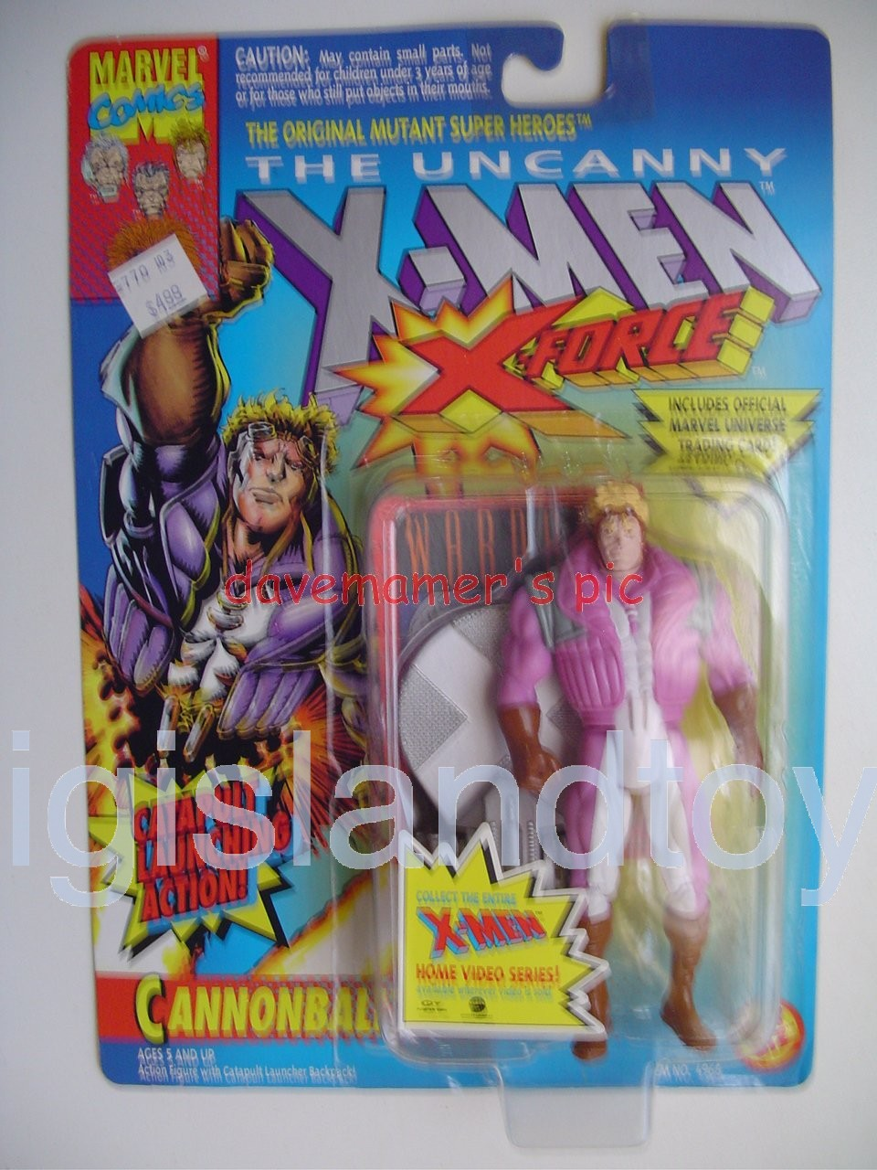 X-Men X-Force Series 2  CannonballPink Jacket