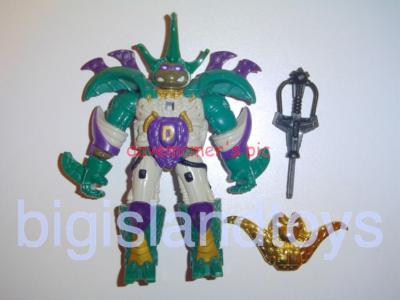 Teenage Mutant Ninja Turtles 1994 Figures   Cyber Samurai DONATELLO