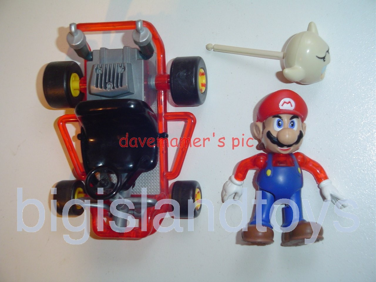 Video Game Superstars Mario Kart 64   Boo Mario with Ghost
