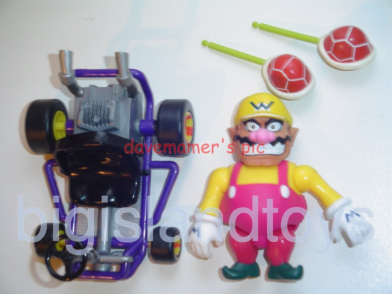 Video Game Superstars Mario Kart 64   Wario