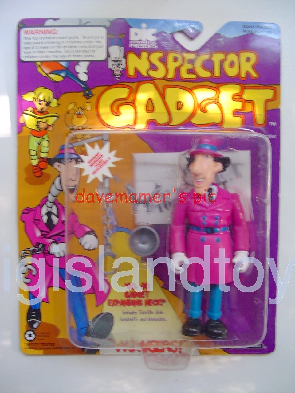 Inspector Gadget    Inspector Gadget with Telescopic Neck