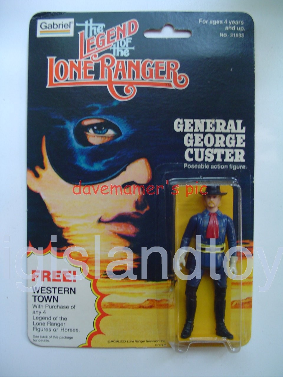 The Lone Ranger    GENERAL GEORGE CUSTER