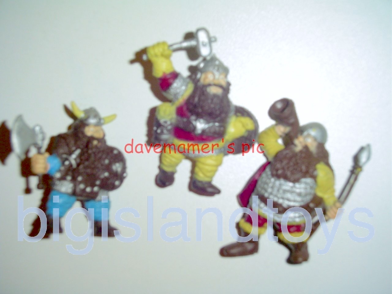 Advanced Dungeons & Dragons PVC Figures   DWARVES of the MOUNTAIN KING