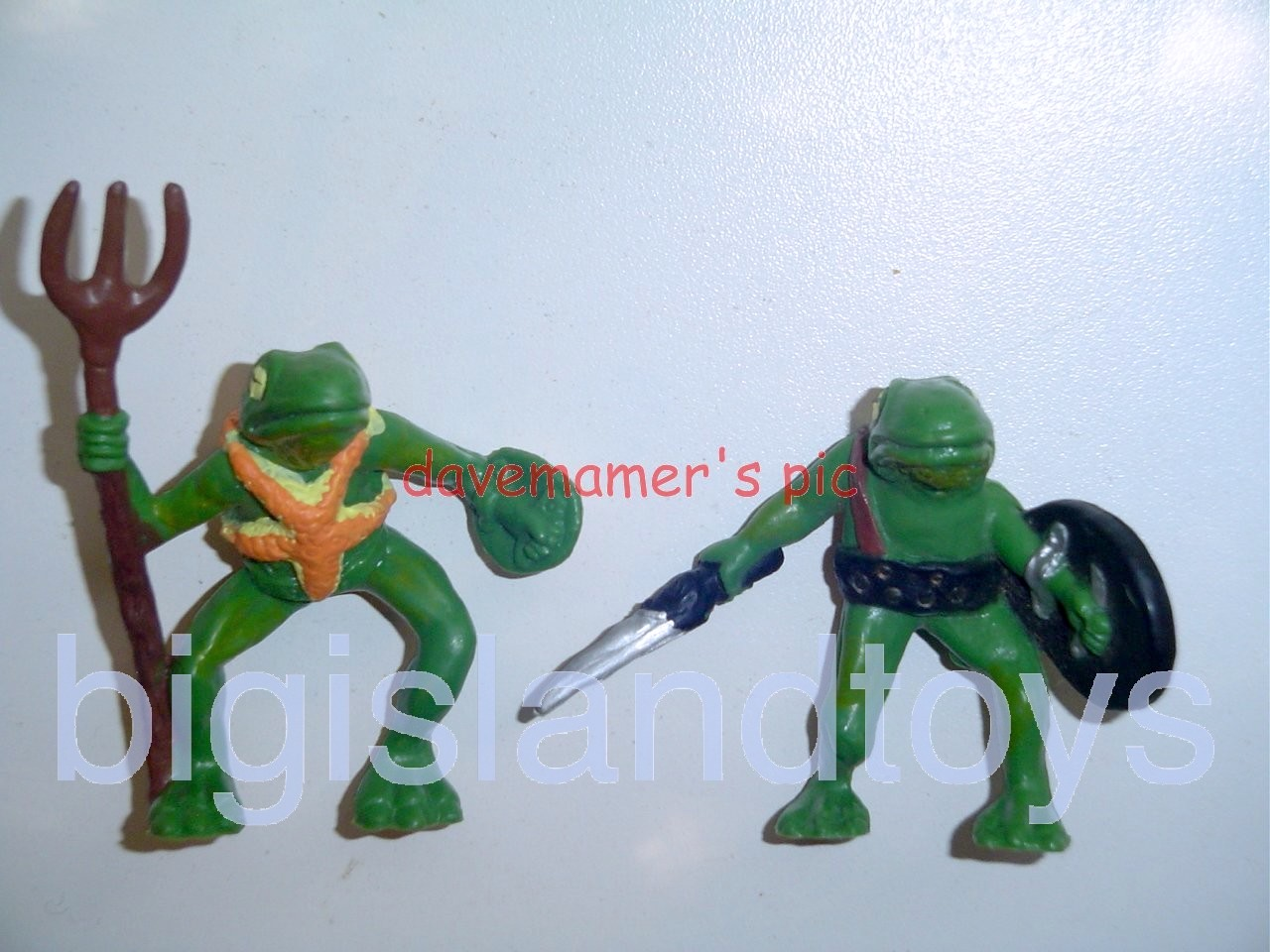 Advanced Dungeons & Dragons PVC Figures   BULLYWUGS OF THE BOG