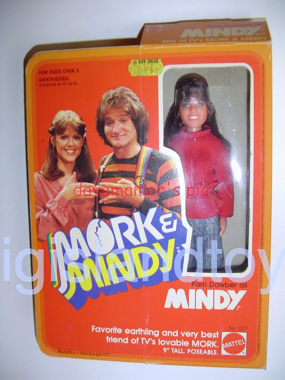 Mork & Mindy    Pam Dawber as Mindy
