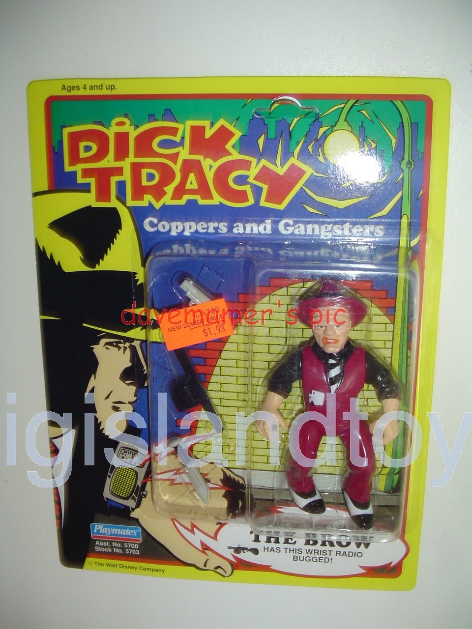 Dick Tracy Coppers and Gangsters   THE BROW