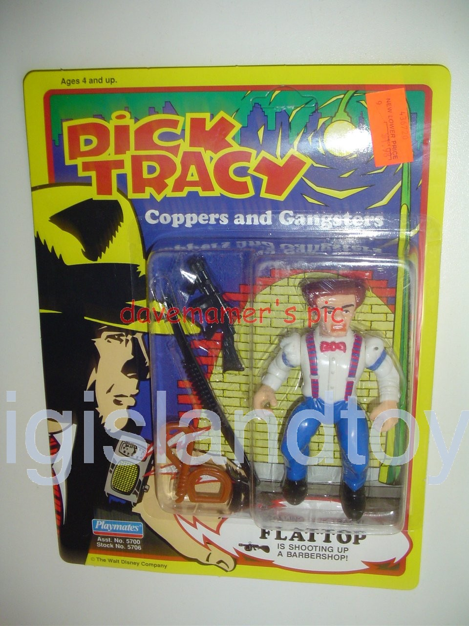 Dick Tracy Coppers and Gangsters   FLATTOP