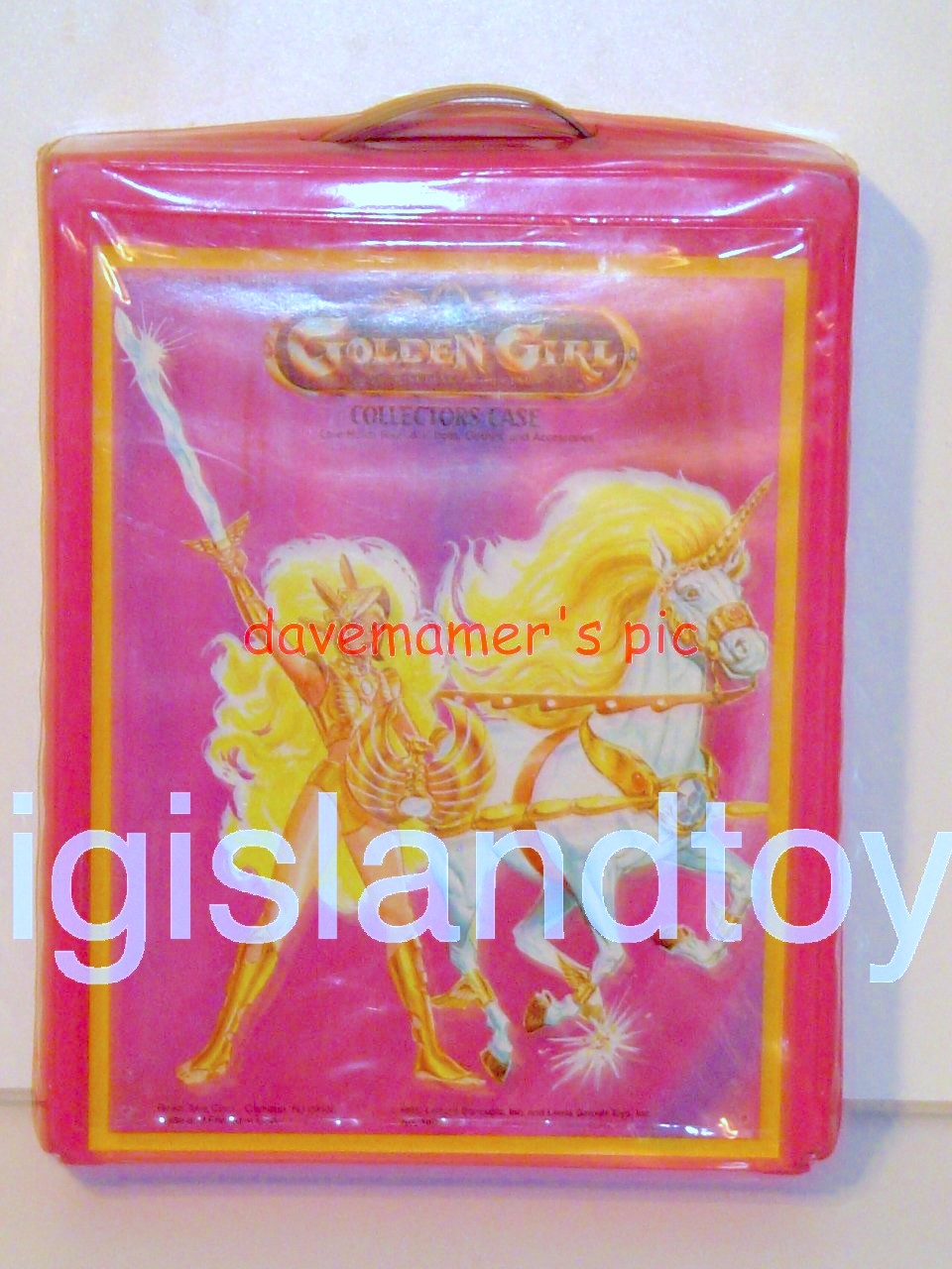 Golden Girl    Figure Collectors Case