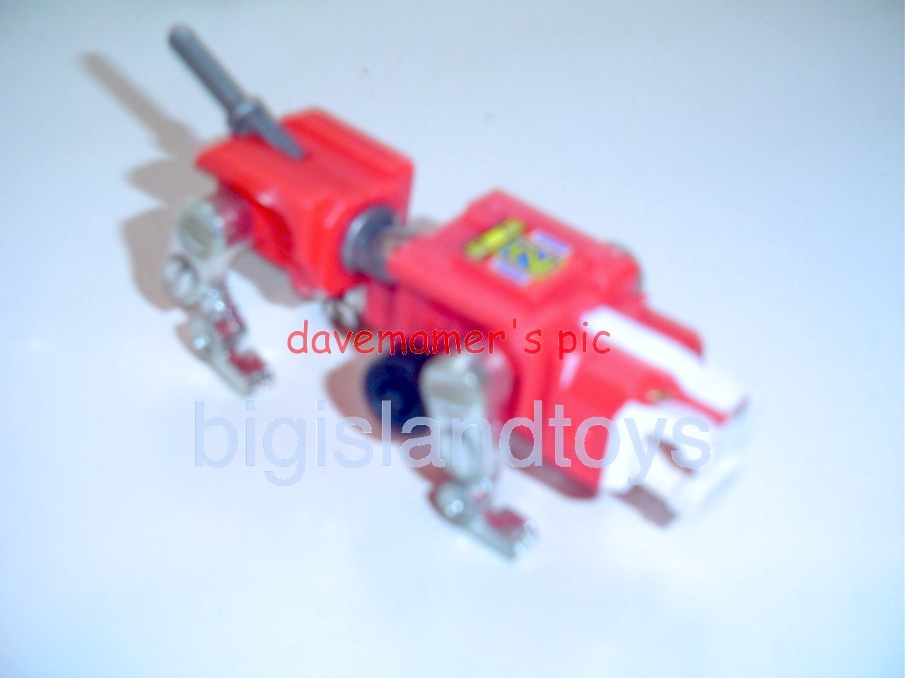 Voltron LJN Robots   Motorized Lion Red