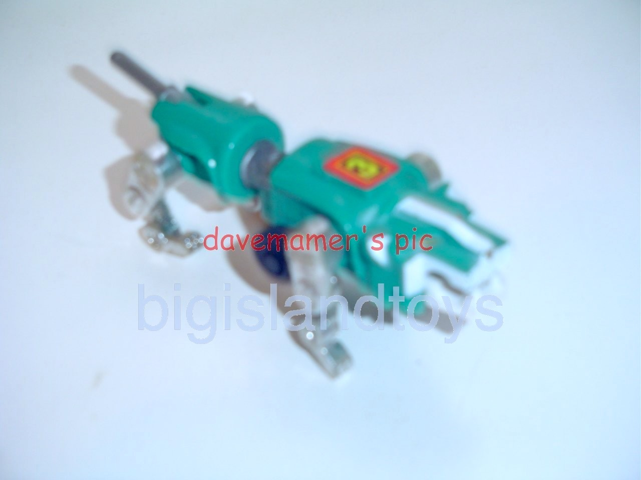 Voltron LJN Robots   Motorized Lion Green