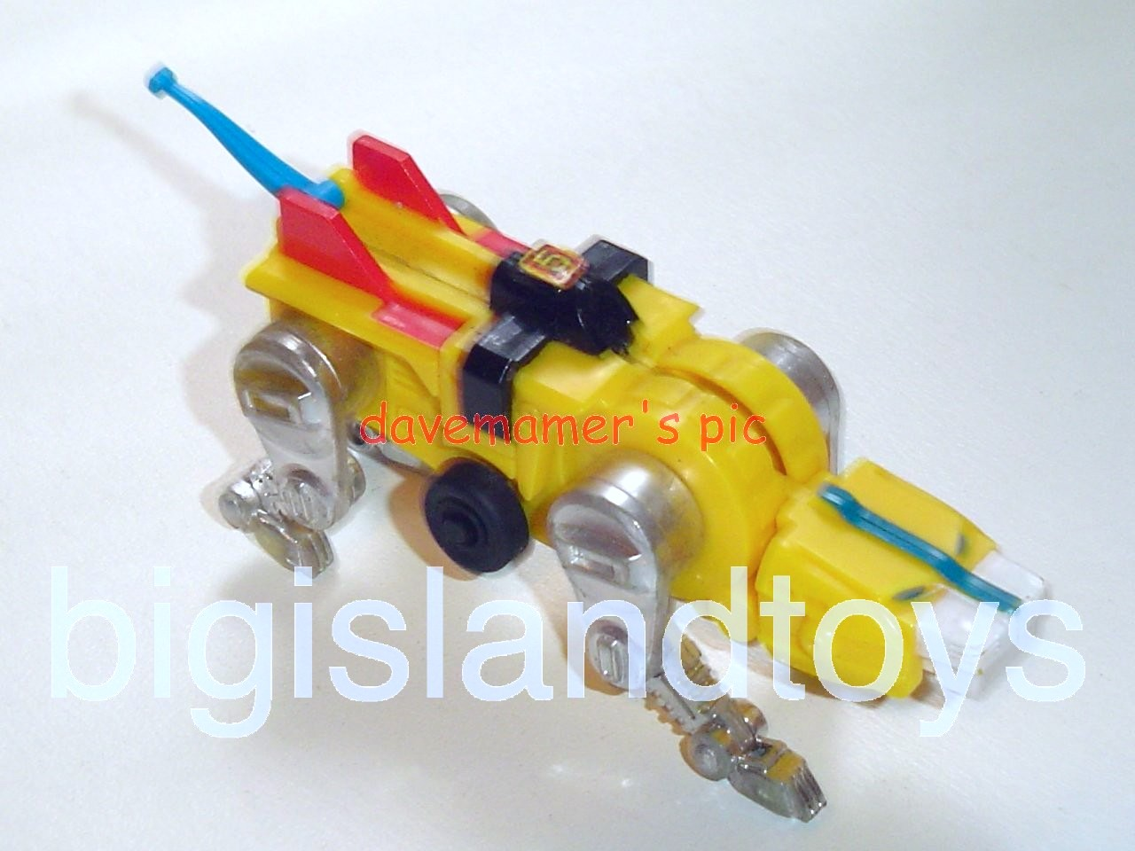 Voltron LJN Robots   Motorized Lion Yellow